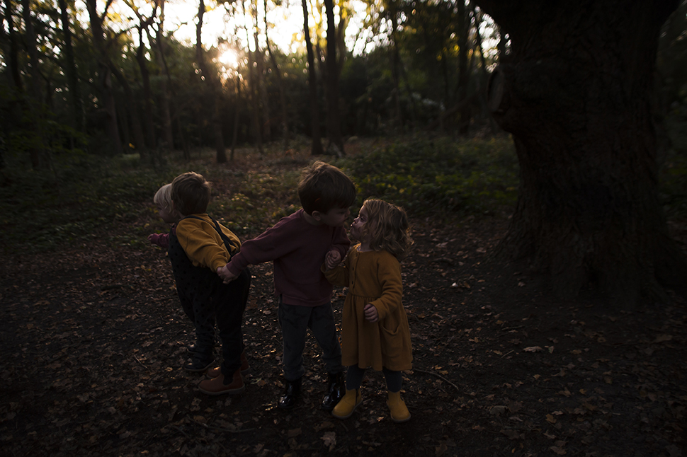 An Autumn Walk with the Four of You