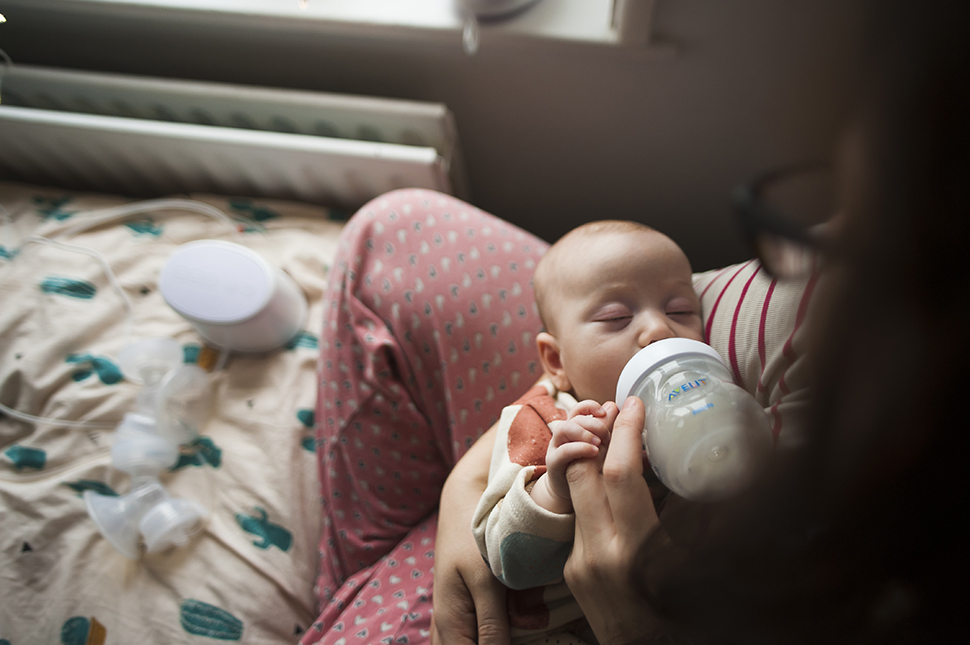 Our Breastfeeding/Bottlefeeding Relationship with Philips Avent [AD]